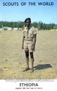 Scouts Of The World, Ethiopia Scout Scouting Unused
