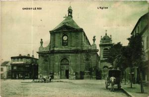 CPA AK CHOISY-le-ROI L'Église (569859)
