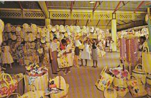 Jamaica Kingston Straw Section Of Victoria Crafts Market 1966