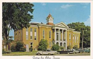 Streetview of Hardeman County Court House, Greetings from Bolivar, Tennessee,...