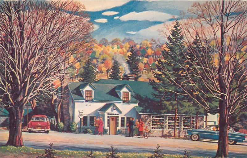 Jennerstown Pa Pennsylvania Green Gables Restaurant C1950s Cars Roadside