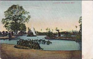 Michigan Detroit Belle Isle Park Lagoon
