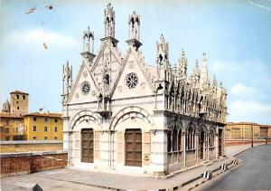 Pisa Italy Postcard Church of St Mary of the Thorn Pisa