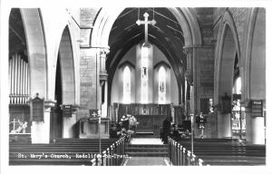 BR70103 st mary church radcliffe on trent real photo uk