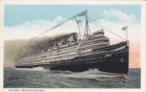 BUFFALO, New York, PU-1928; Steamer Greater Buffalo