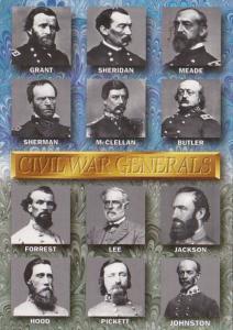 Ciivil War Generals 1861-1865