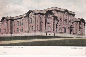 GUELPH, Ontario, Canada, PU-1906; MacDonald Institute