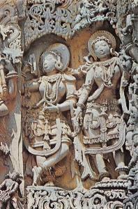 India Hoysalesvara Temple Halebid Tempel