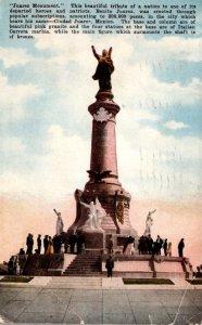 Mexico Ciudad Juarez The Juarez Monument 1927