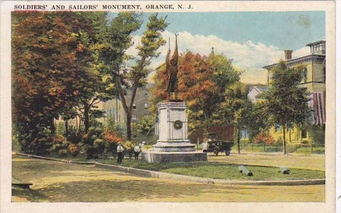 New Jersey Orange Soldiers and Sailors Monument