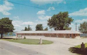 Exterior, South Shore Resort, on Lake Cadillac,Cadillac, Michigan,  40-60s