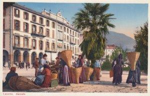LOCARNO , Switzerland , 1900-10s ; Mercato