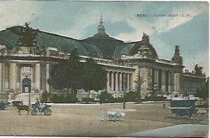 Paris - Le Petit Palais - L.D. Rue du Helder 1900s French Vintage Postcard