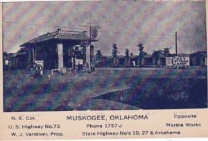 Oklahoma Muskogee Cozy Cottage Camp