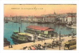 Un Coin Du Quai Des Belges, Marseille (Bouches-du-Rhône), France, 00-10s