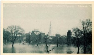 CT - Hartford. Great Flood, March 1936. Bushnell Park