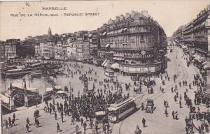 France Marseilles Rue de la Republique