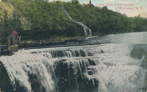 Lower Falls on the Genesee River at Rochester, New York - pm 1911 - DB