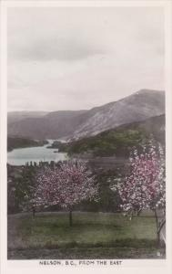 RP; Hand-colored, NELSON from the East, British Columbia, Canada, 10-20s