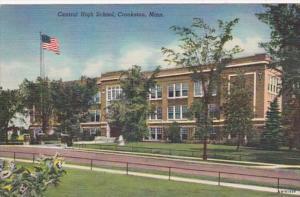 Minnesota Crookston Central High School 1960 Curteich