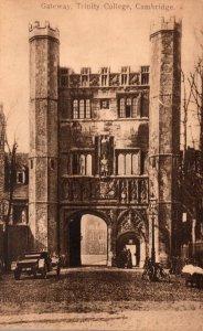 England Cambridge Trinity College Gateway