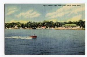 Postcard Detroit Lake Water-Front Detroit Lakes Minnesota Standard View Card