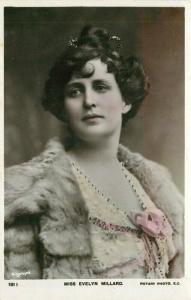 C-1910 Stage Actress Evelyn Millard Postcard Rotary 4712