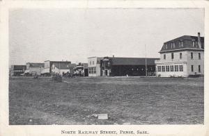 PENSE , Sask. , Canada , 1900-10s ; North Railway Street