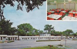 Exterior Street View, Interior Dining Area, Zephyr Motel, Restaurant, & Gift ...