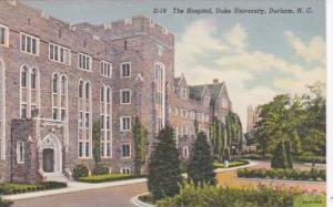 North Carolina Durham The Hospital Duke University