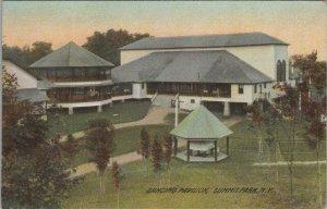 Dancing Pavilion Summit Park New York Divided Back Vintage Postcard