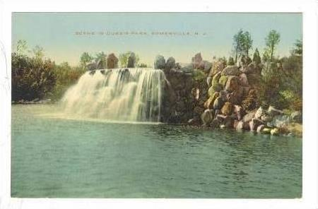 Scene In Duke's Park, Somerville, New Jersey, 1900-10s