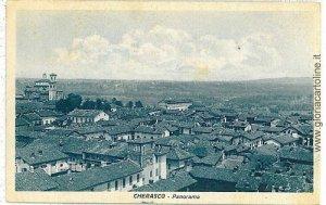 08835  CARTOLINA d'Epoca - CUNEO : CHERASCO