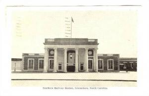 Southern Railway Station, Greensboro, North Carolina,  PU-1946