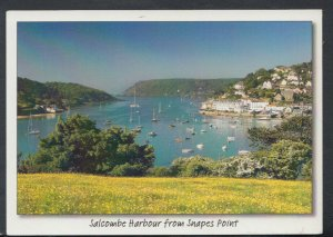 Devon Postcard - Salcombe Harbour From Snapes Point   T4192