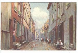 Scenic view, Little Champlain Street, Quebec, Canada, 00-10s