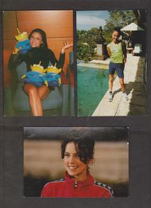 SPICE GIRLS - 9 Cards With 1 Girl - Unused - Writing On Backs