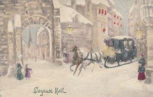 V.K.. VIENNE : 1912 ; Christmas Sled