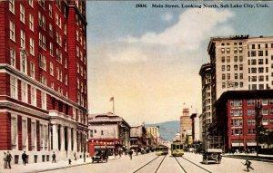 UT - Salt Lake City. Main Street Looking North