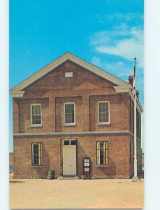 Unused Pre-1980 MILLERTON COURTHOUSE Fresno California CA d2550