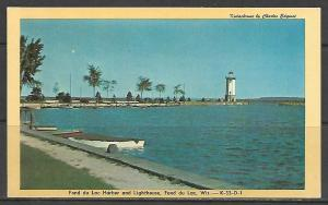 Wisconsin, Fond du Lac - Harbor & Lighthouse - [WI-126]