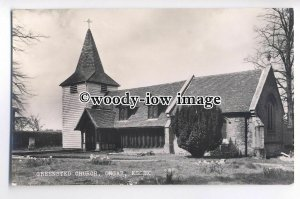 cu1962 - Anglo-Saxon Greensted Church, in Ongar, Essex - Postcard