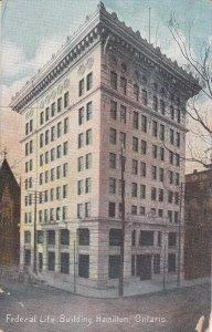 HAMILTON, Ontario, Canada; Federal Life Building, PU-1909