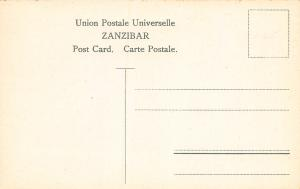 Zanzibar, Classic Stamps in Actual Colors, Early Postcard, Unused