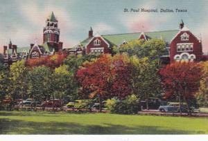Texas Dallas St Paul Hospital