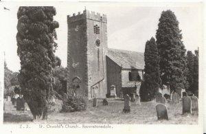 Cumbria Postcard - St Oswald's Church - Ravenstonedale - Ref 5870A