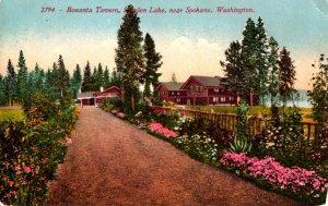 Spokane, Washington - The Bozanta Tavern at Hayden Lake - c1908