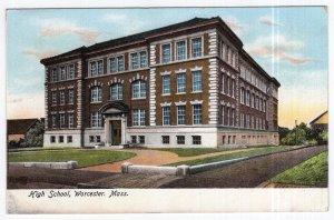 Worcester, Mass, High School