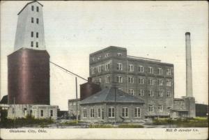 Oklahoma City Mill & Elevator Co c1910 Postcard