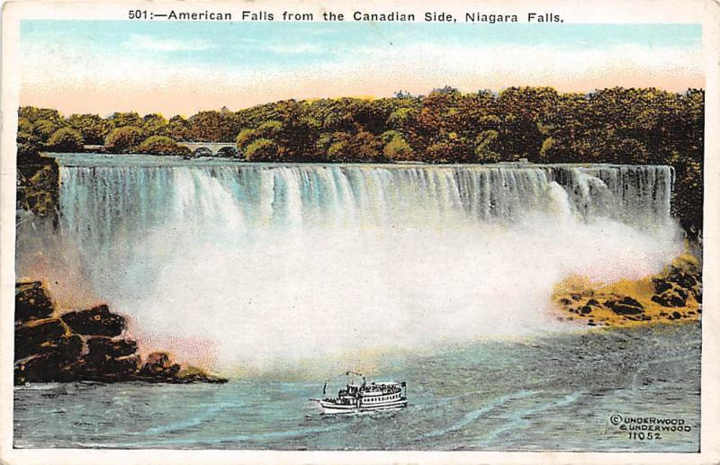 Niagara Falls, American Falls from the Canadian Side, Cascade